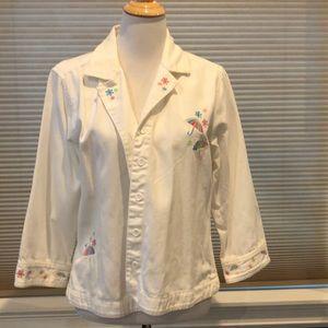 Spring themed jacket